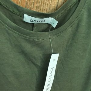 Barre3 Tops - Barre3 army green tank top, NWT, size L